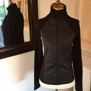 Black Athleta Zip Jacket